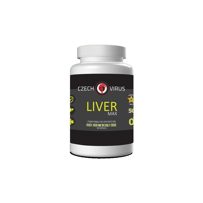 Czech Virus Liver MAX, 100 kapslí