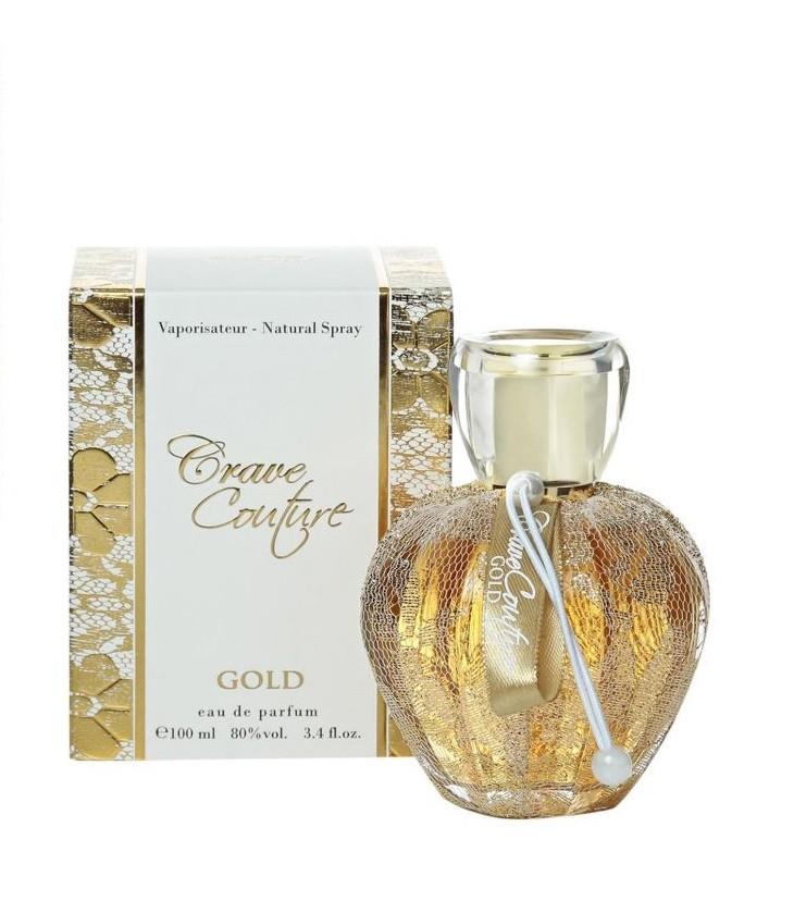 Crave Couture gold EdP pro ženy vzorek